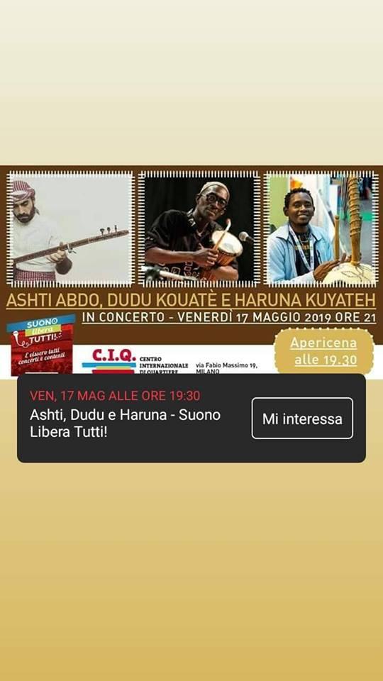 17.05.2019 Dudù a Cascina Casottello per l'inaugurazione della Sala Musica insonorizzata